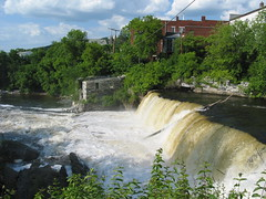 Middlebury Falls - from the south