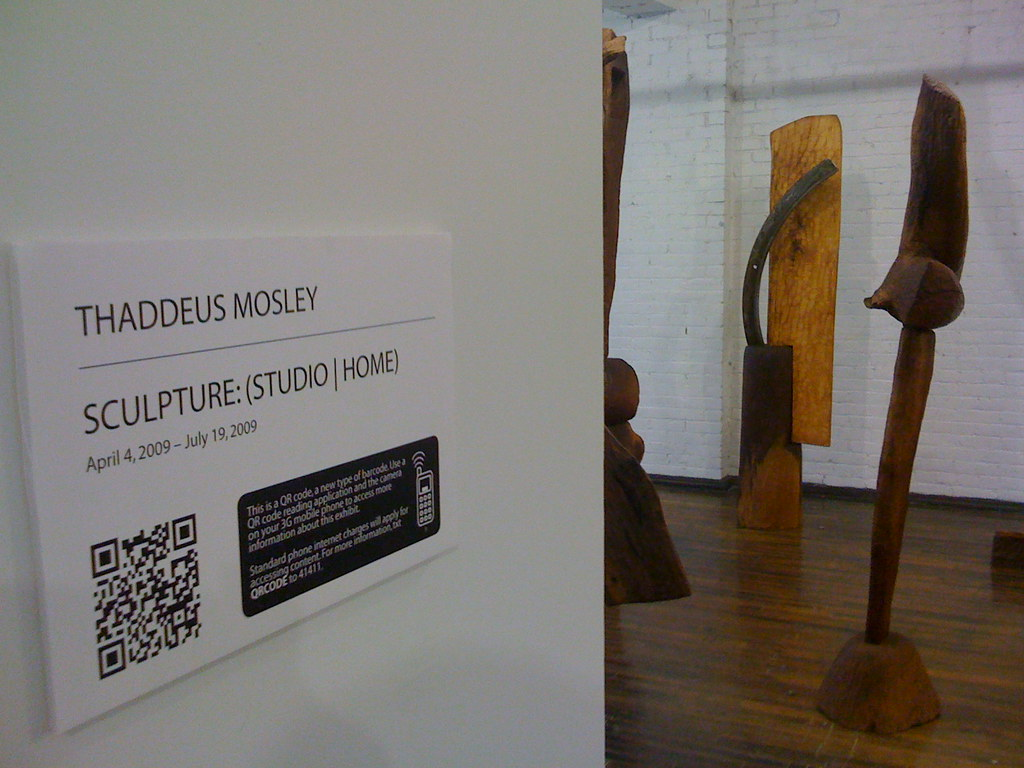 QR Codes in the Galleries