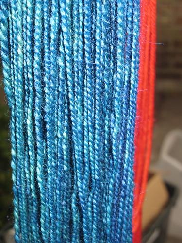 LB blend post dye