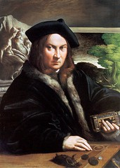 Parmigianino Portait of a Collector