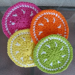 Citrus Fruit Coasters 01