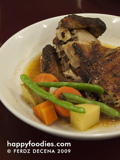 Roast Chicken (P 190)