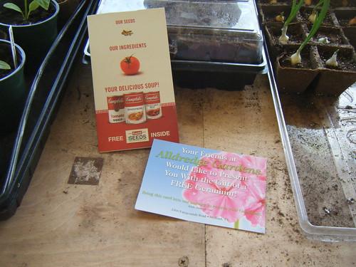 Gardening Freebies