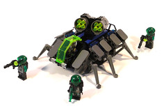 Battle Beetle (~Chrispy~) Tags: lego space insectoid