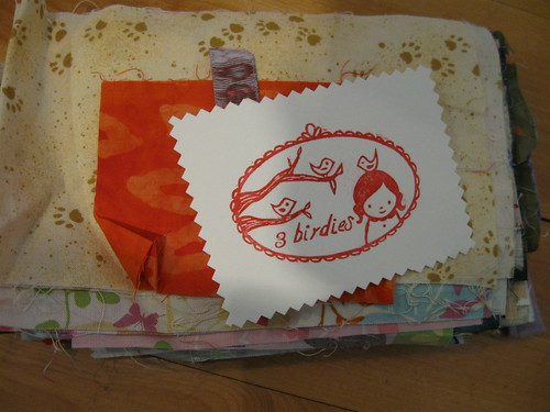 Goodies from the patchwork swap