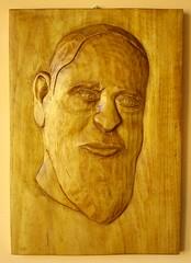 Padre Pio (romekdziem) Tags: sculpture carving lipa relief lime padre pio rzeźba limewood ojciec