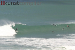 Fistral 1 (kunstcompiler) Tags: uk sunset sea england beach point surfing swell wedge bodyboarding slab wellenreiten holywell fistral bodysurf bigwave perranporth surfen portreath porthleven porthtowan cribbar