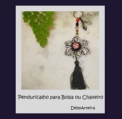 Chaveiro Pencuricalho (debyarteira) Tags: chaveiro penduricalho patchworkpatchwork