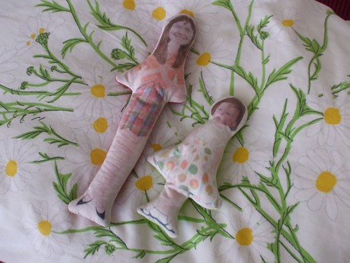 the Betsy McCall dolls Sarah made!