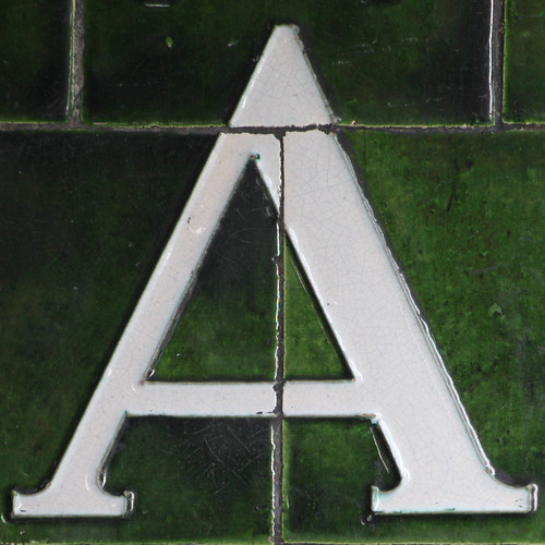letter a. letter A