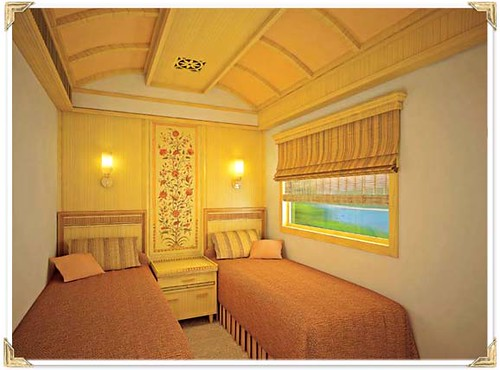 Maharajas Express cabin deluxe twin