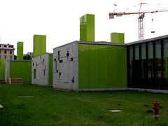 Maciachini center (190.arch (aka bymamma190)) Tags: milan verde green architecture arquitectura italia milano architettura miln maciachinicenter