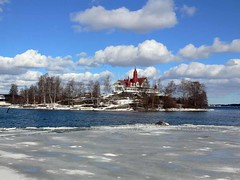 Helsinki in early spring (Andy Siitonen) Tags: winter ice island helsinki balticsea iceandwater klippanrestaurant
