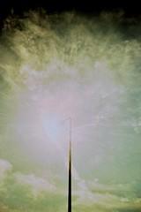 Ultimate Light By Day (The James Kendall) Tags: light sun lamp clouds crossprocessed brighton glare lamppost crossprocessing flare elitechrome vivitar uws kodakelitechrome ebx ultrawideandslim lightsbyday lightbyday 20090511vivitar1