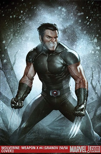 WOLVERINE: WEAPON X #4 variant cover by Adi Granov