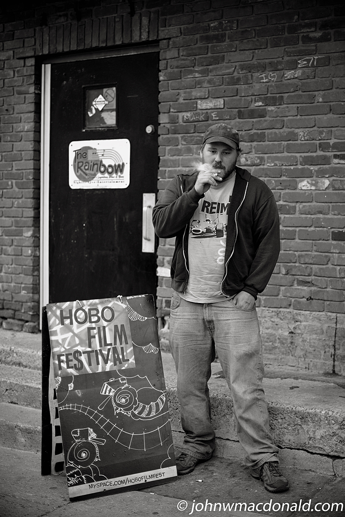 Chris Stanhope of The Hobo Film Festival