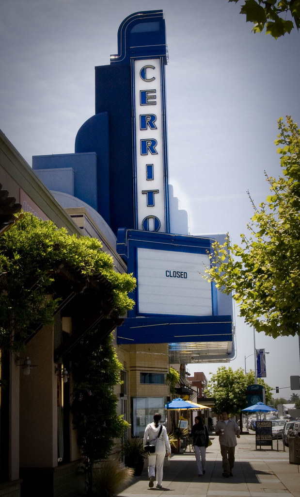 Cerrito Theater, El Cerrito California, May 21, 2009