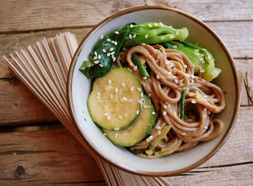 Asian Noodle Salad with Udon