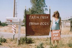 (Anna Hollow) Tags: film girl mailbox sister farm eggs lexi annahatzakis annahollow