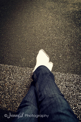 PROJECT 365: Cold Feet (literally)