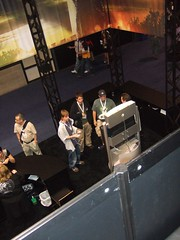 High Voltage Booth from Above!