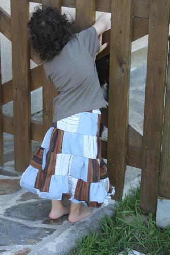 patchwork skirt 2