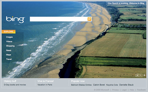 Bing on D-Day