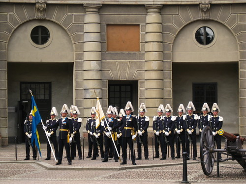 Stockholm, Gamla Stan, Change of guards