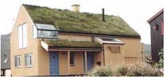 A modern Faroese house