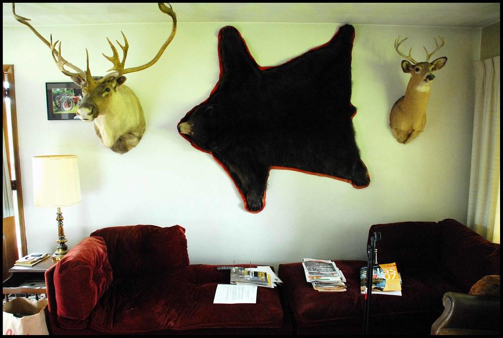Leonard's Living Room Wall