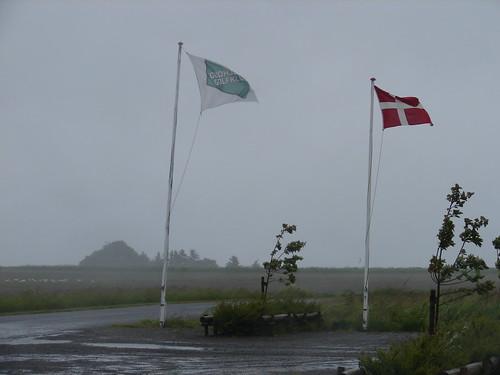 Regn og vind