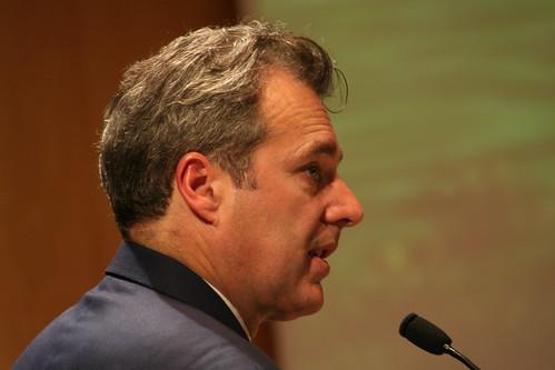 Peter Sharratt speaking at the European Future Energy Forum