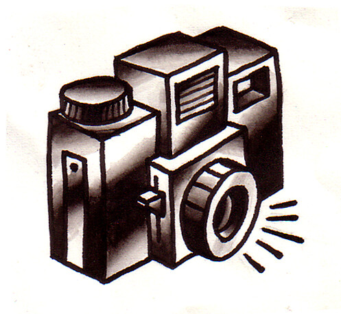 camera tattoo. Holga Camera Tattoo Flash