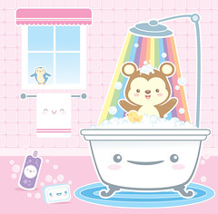Casa Kawaii - Bath Time