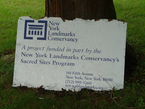 Landmarks Conservancy's Plaque