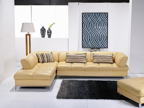 Salvatore Leather Sectional Set 939A