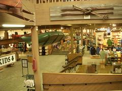 L. L. Bean interior