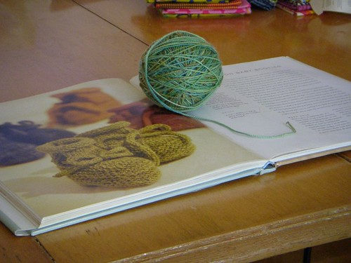 finished ball of koigu