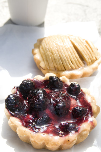 Blackberry Tart, Brioche Bakery, Island Earth Farmers Market, Westfield Metreon, San Francisco