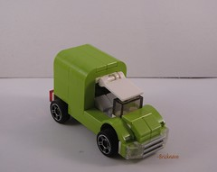 Limeade Delivery Truck Front View