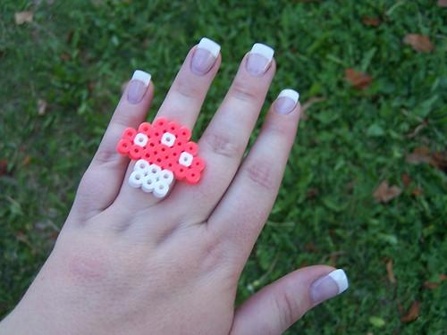 Perler ring
