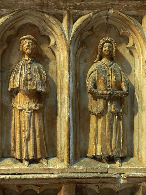 Mourners - Thomas de Beauchamp tomb