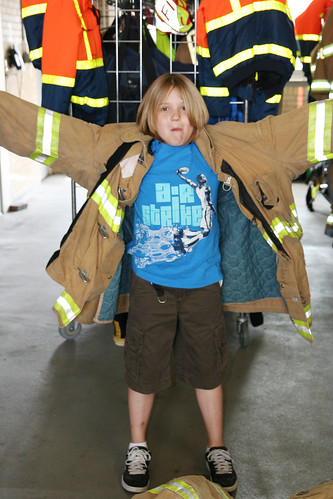 Future fire fighter?