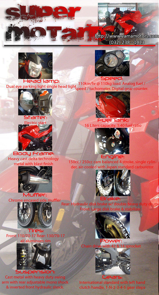 THE NEW SUPER MOTARD specification 4583065023_860d772051_b