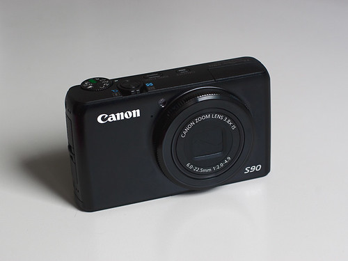 My newly arrived Canon S90