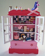 Eloise Enchanted Cabinet ~ 1:12 Scale (Enchanticals~ Death in Family) Tags: wood pink white black glass girl miniature child bottles cabinet furniture handmade story fantasy littlegirl hutch foundobjects collectible etsy stories homedecor possessions eloise dollhouse dioramas crystalball findings childrensbooks 6yearold littlethings childrensstories kaythompson oneinchscale etsylove roomboxes 112thscale dollhouseminiature onetwelfthscale etsyteams minimakers famouscharacter dontmakeascene faeteam miniaturedoors damteam scaledollhouseminiature teammids enchanticals miniaturedollhousescale minitreasures handcraftedminiatures enchanticalsetsy miniaturesindollhousescale miniaturecollector 112scaledollhousescale dollhousesandminiaturesforthem fantasydollhousesandminiatures miniaturesgeneral alteredboxesminiatures fantsycrafts estsyhandmadeandvintage 112thscaleonetwelfthscale miniaturedollhousefurniture