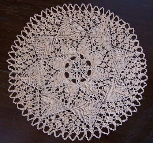 my first doily