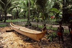 50008542 (wolfgangkaehler) Tags: oceania micronesia carolineislands carolineislandsmicronesia pulap pulapisland pulapislandmicronesia native nativepeople nativeislander boy nativeboy beach youngboy children nativechild nativechildren canoe dugoutcanoe woodencanoe woodencarving