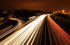 Trails (ComputerHotline) Tags: road light france night lights highway motorway lumière trails route autoroute nuit franchecomté fra lumières belfort filé a36 pérouse