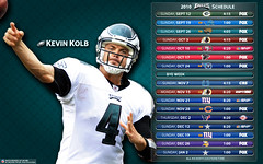 2010 Philadelphia Eagles Schedule - Kevin Kolb